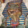 Giant Crocodile God - Sits on Throne