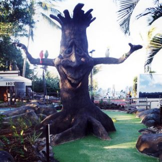 Daydream island Character Tree for Mini Golf Course
