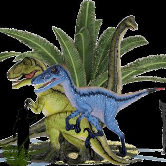 Dinosaur 3D wall decor