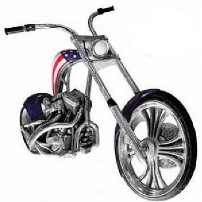 Motorbike - lifesize replica - Ideal for man cave theming props