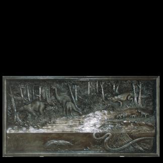 Prehistoric Wall Plaques