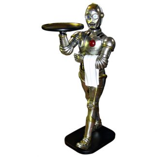 Robot_Butler_Statue_Walking