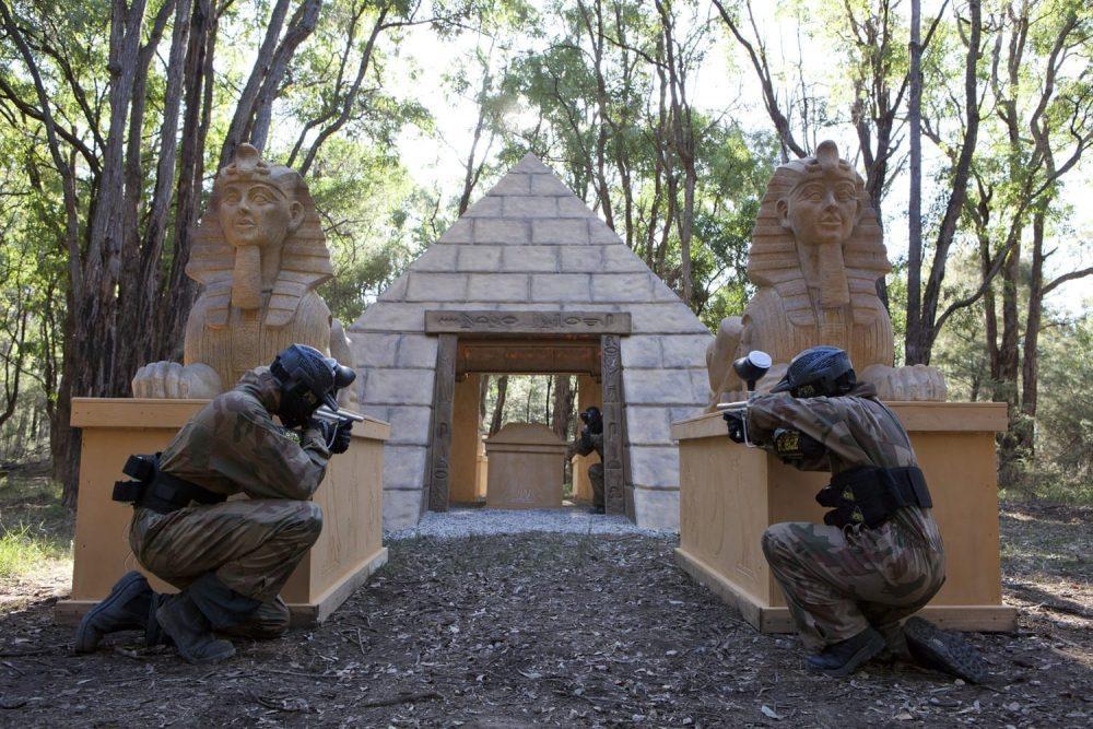 A Pyramid Delta Force