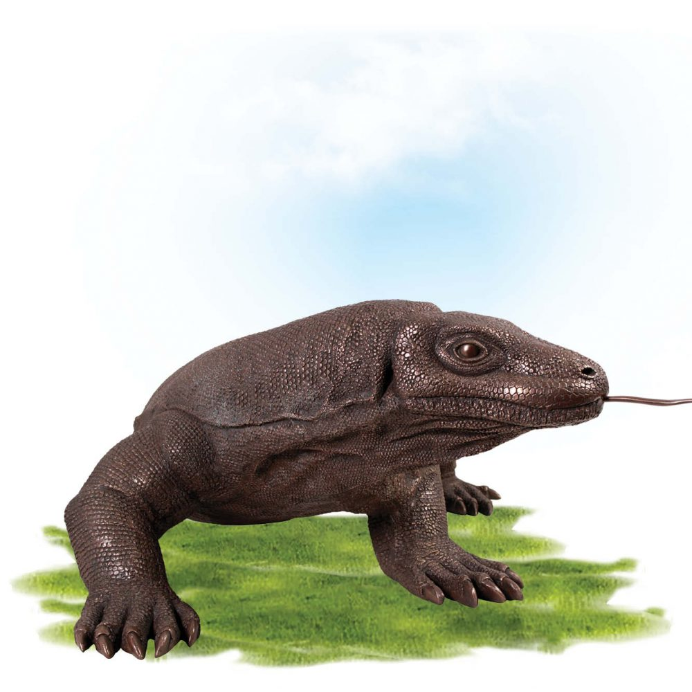Animals Reptiles Lizards  Komodo Dragon Bronze Product Image V px px