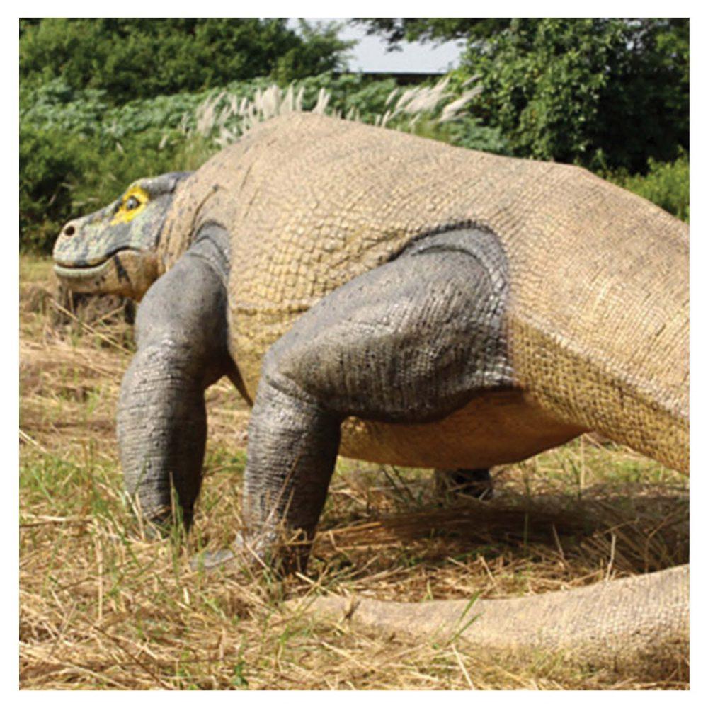 Animals Reptiles Lizards  Megalania Komodo Dragon finish concept art Product Image V px px