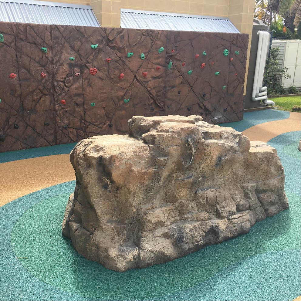 Artificial Rocks with animlfossils