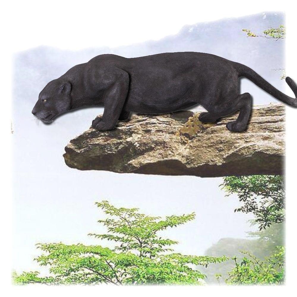 Black Panther Crouching