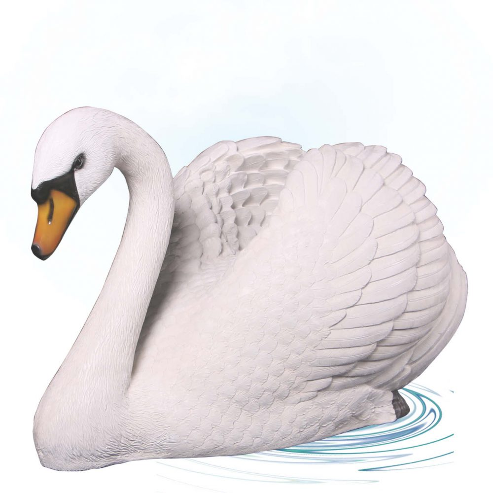 English Swan - Larger than Life-size