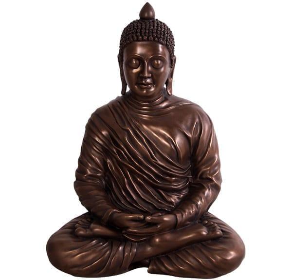 Bronze Divine Buddha Statue