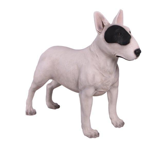 Bull Terrier Dog Garden Statue