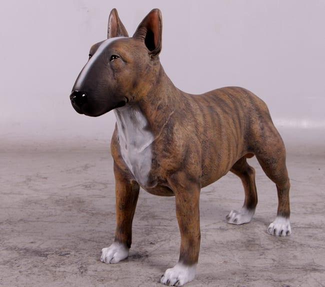 Bull Terrier Dog Statue