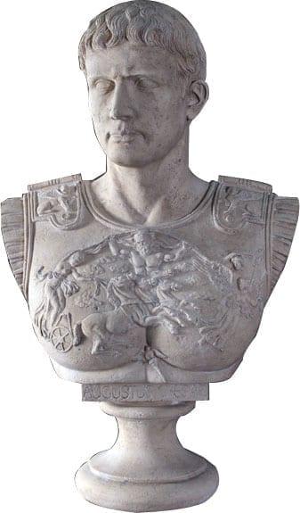 Bust Augustus Caesar RS
