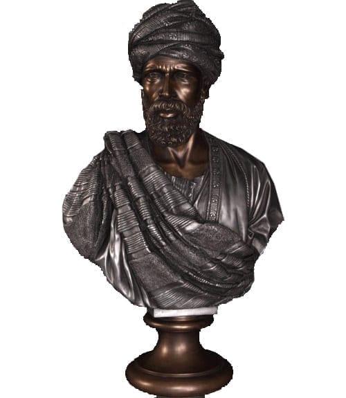 Bust Sheik BAluminum