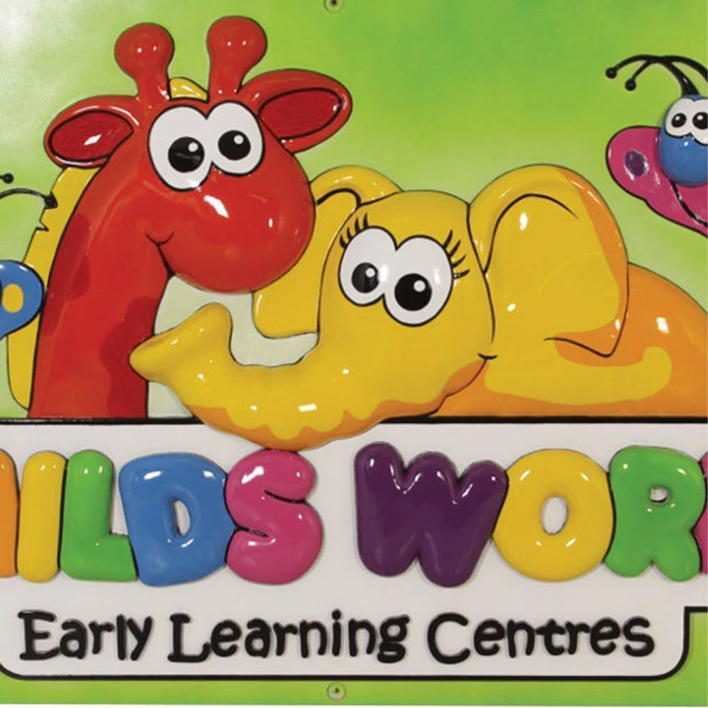 Childs World Early Learning Centres D Logo