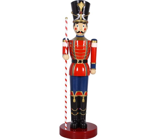 Christmas Toy Soldier With Baton