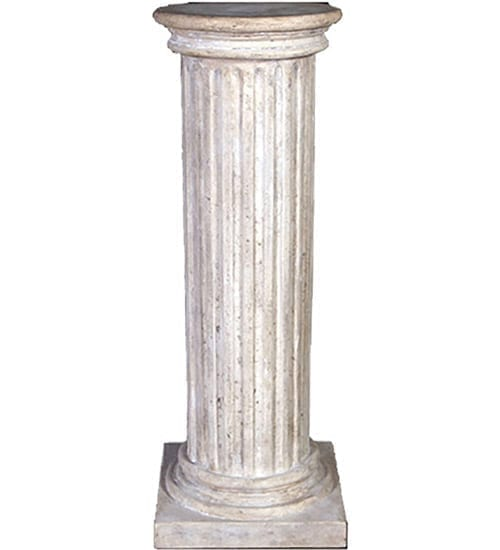 Column Fluted Round Top Large RS