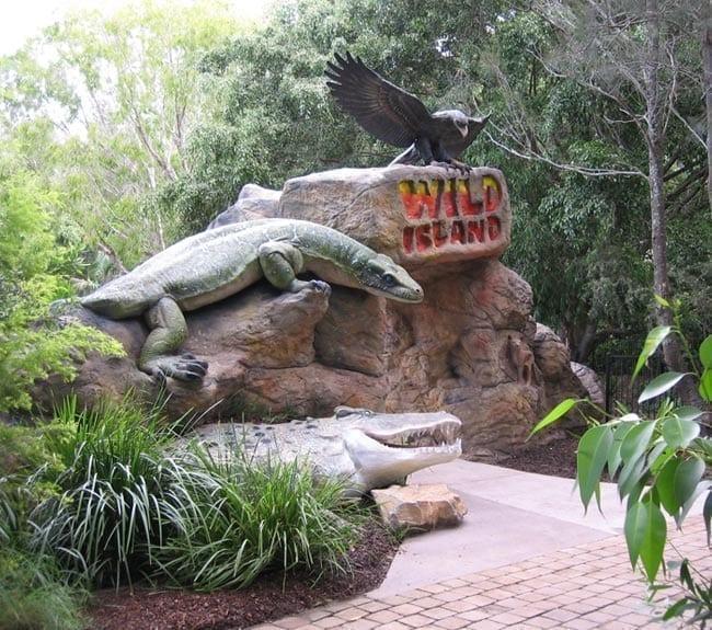 Crocodile Entry Statement Currumbin Wildlife Sancturay