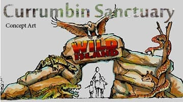 Currumbin Sanctuary Entry Concept Art
