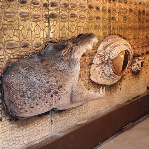 Crocodile Wall Panel - Sydney Zoo & Aquarium