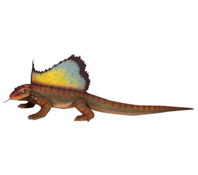 Dimetrodon Dinosaur Statue