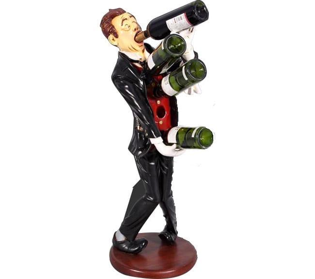 Drunken Sommelier Wine Holder ft