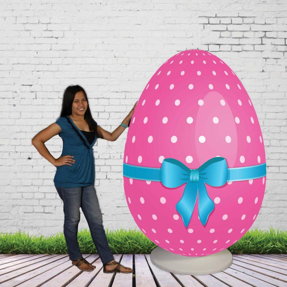 Giant Egg on Base -Easter Prop