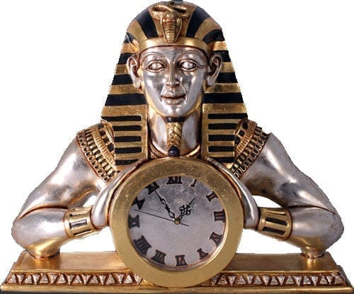Egyptian Mantle Clock CLEMC