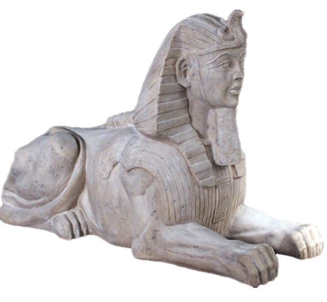 Egyptian Sphinx Roman Stone Jumbo OTSPJRS