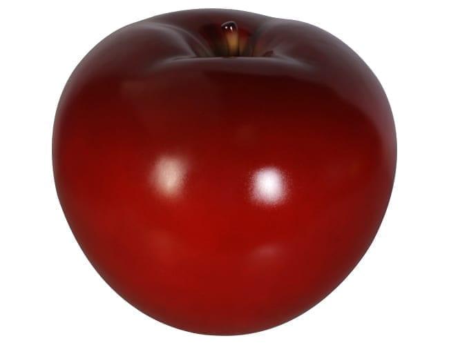 Fibreglass Apple Red Large