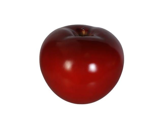 Fibreglass Apple Red Small