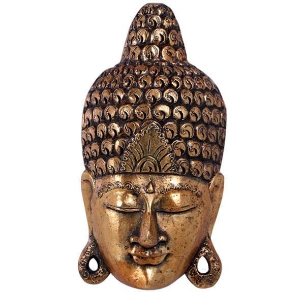 Fibreglass Buddha Mask Wall decor
