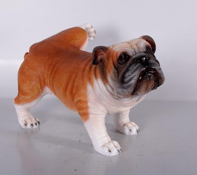 Fibreglass Bulldog Statue
