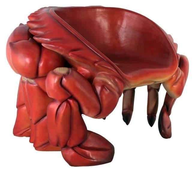 Fibreglass Crab Chair