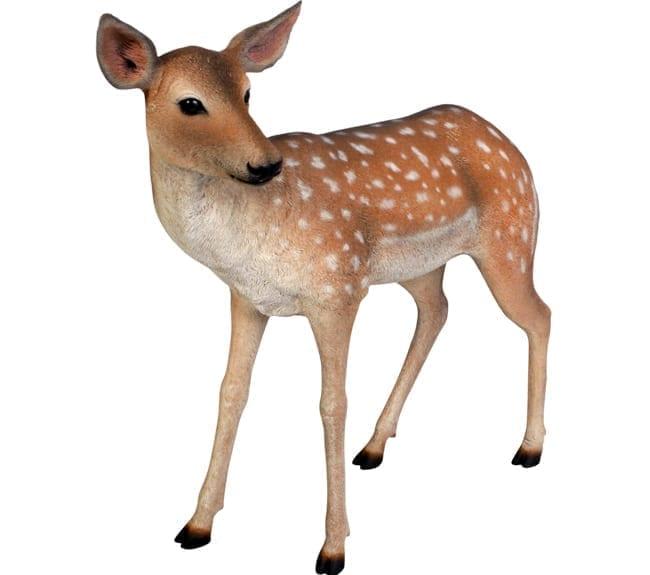 Fibreglass Deer Statue Fawn Fallow