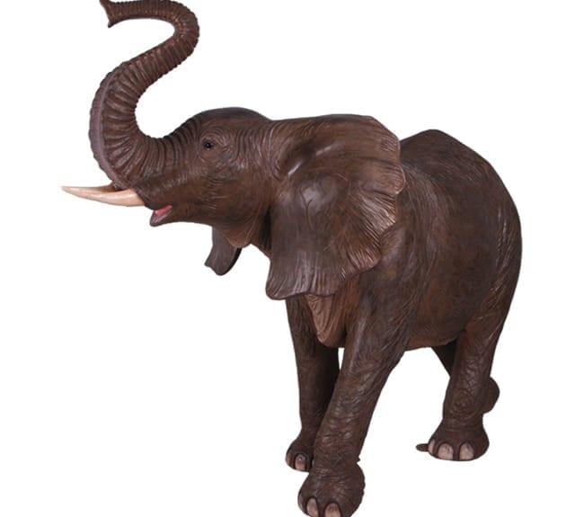 Fibreglass Elephant Statue
