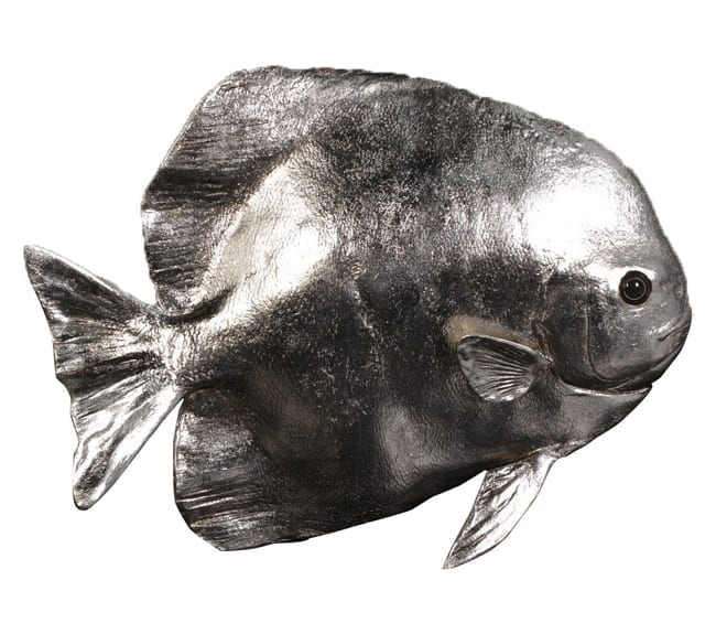 Fibreglass Fish Batfish Silver NWS