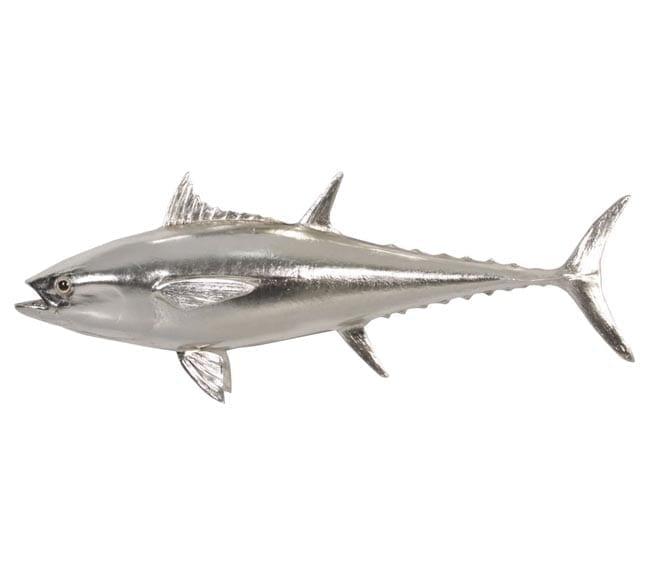 Fibreglass Fish Bluefin Tuna Replica Silver