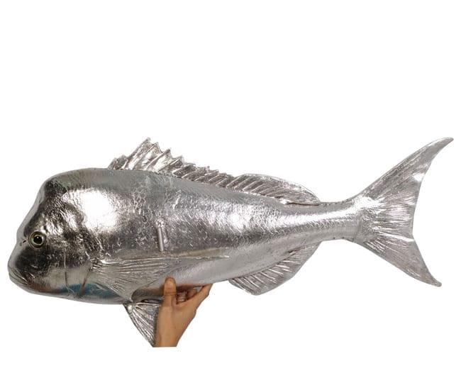 Fibreglass Fish Schnapper Silver PH