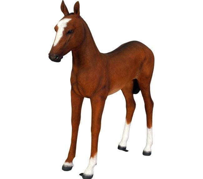Fibreglass Foal Statue