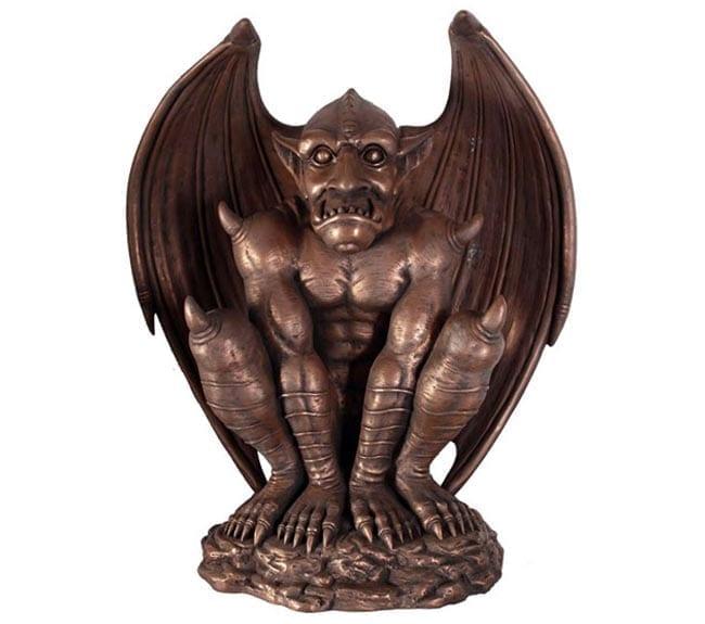 Fibreglass Gargoyle Sculpture Bronze