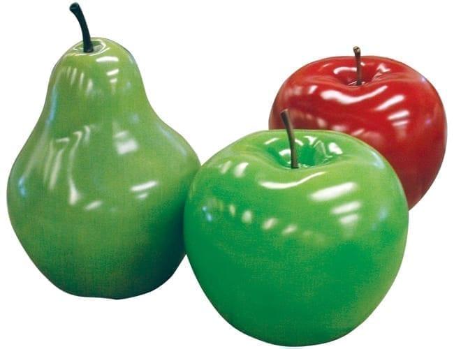 Fibreglass Giant Apples N Pear Set
