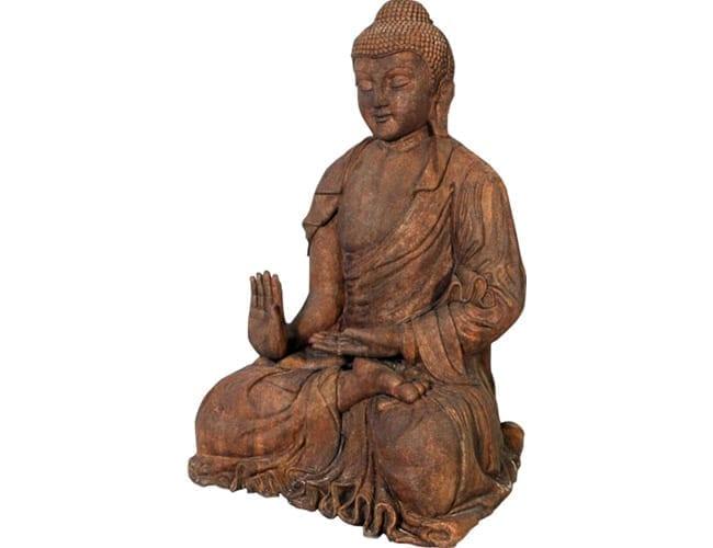 Fibreglass Giant Buddha Brown CC