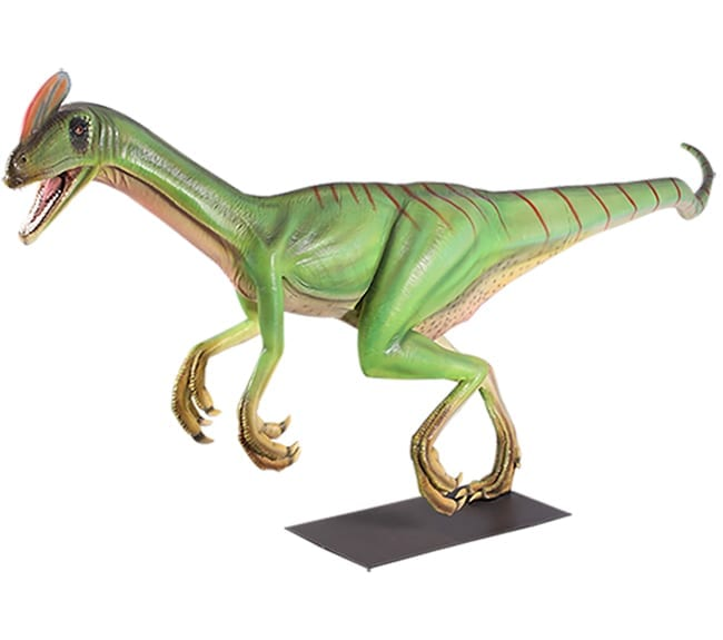 Fibreglass Guanlong Dinosaur Statue