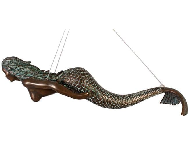 Fibreglass Mermaid Hanging Statue