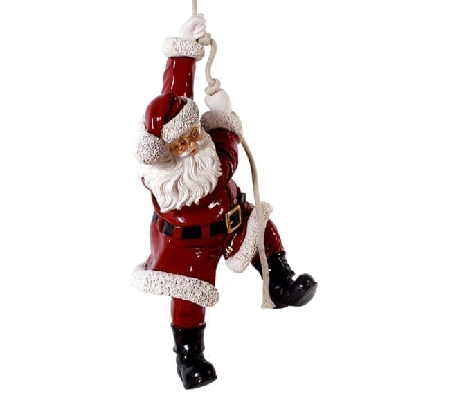 Fibreglass Santa Handing