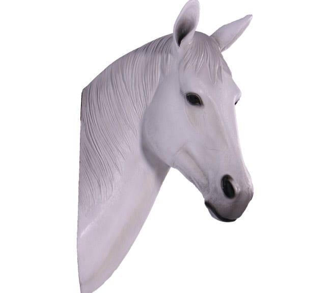 Fibreglass Seabiscuit Horse Head Wall Art