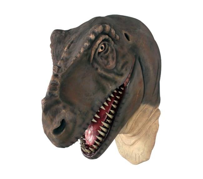 Fibreglass T Rex Dinosaur Sculpture Head Standing Large