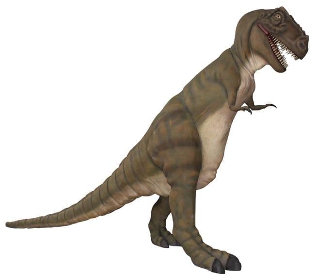 Fibreglass T Rex Dinosaur Sculpture Standing Large