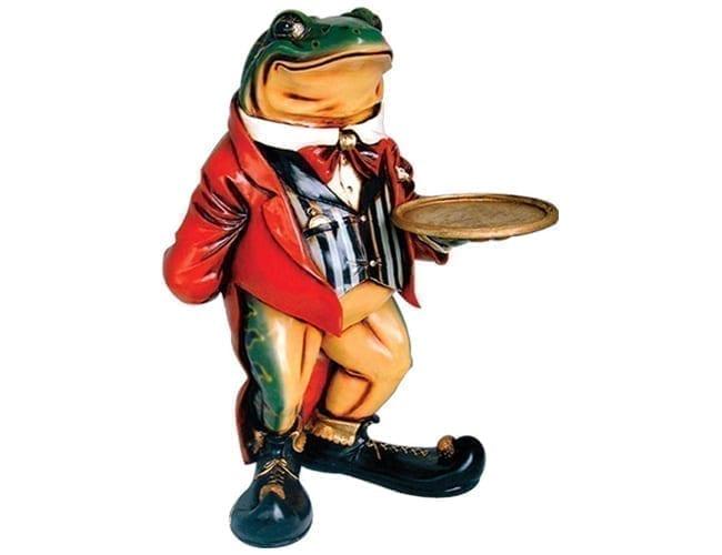 Frog Butler Statue large AFFRB