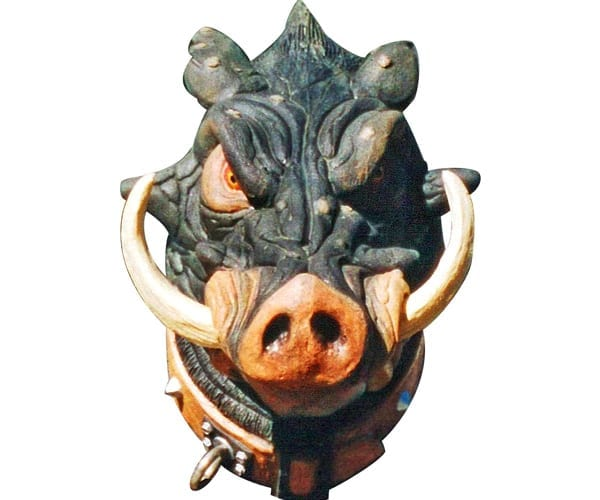 Fugly Guard Hog Head Only Wall Mount HHNW